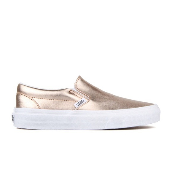21a220aac58c Rose gold slip on vans. Perfect condition. Size 9.  M 5b3e94d7bb7615a888da2d15